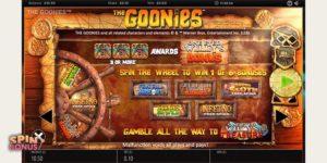 goonies-slot-features